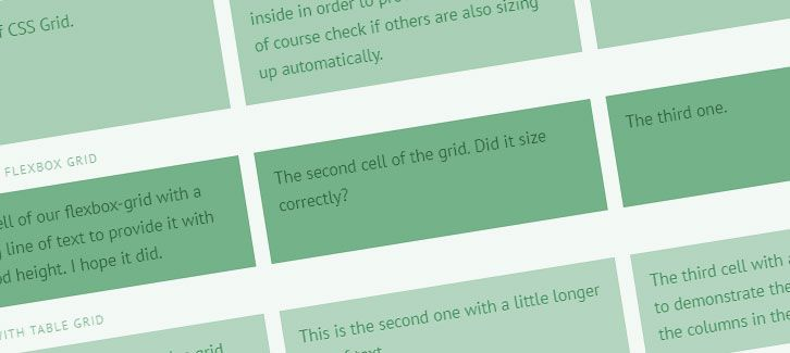 3 Ways to Create Equal-height Columns with CSS