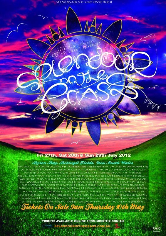 Splendour in the Grass - 2012