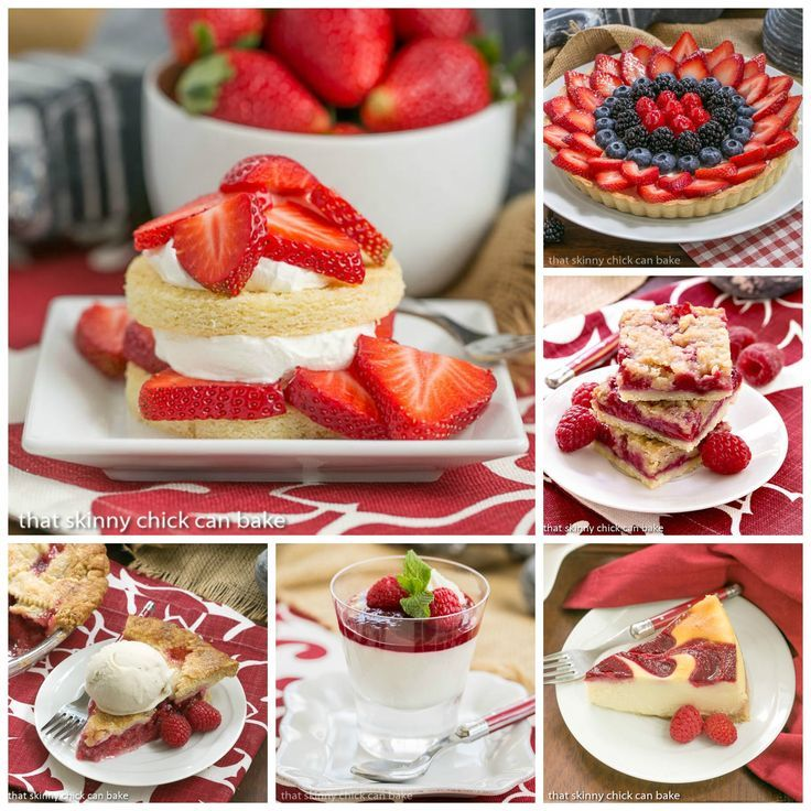 Best Berry Desserts | Fabulous berry desserts to make this summer! @lizzydo