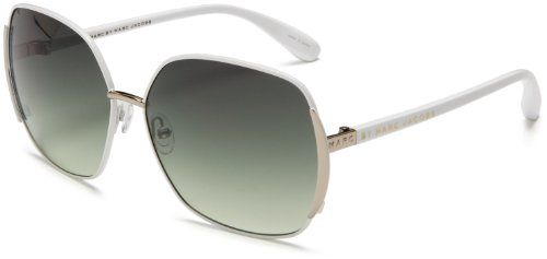 best - Marc by Marc Jacobs Women's MMJ 098/S Metal Sunglasses,White Frame/Green Gradient Lens,one size Marc by Marc Jacobs http://www.amazon.com/dp/B001RK3662/ref=cm_sw_r_pi_dp_hMQNtb0F0TYFM9SM