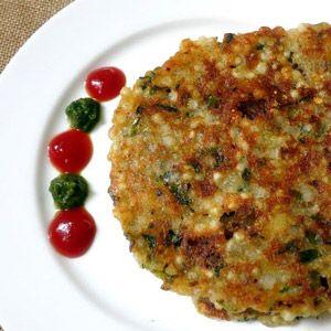 Sabudana Thepla Recipe | How to make Sabudana Thepla - Vegetarian