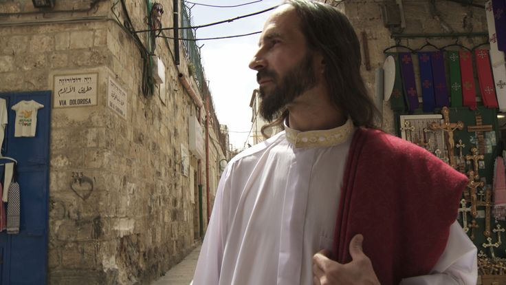 """Katarzya Kozyra """"Looking for Jesus"""" is a spellbinding documentary film exploring the Jerusalem Syndrome, an acute delusional disorder reported in individuals who begin to identify as Biblical figures after visiting the Holy Land. The documentary is fresh off a high-profile run in New York City's Postmasters Gallery."""
