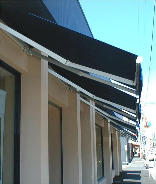Sydney Shop Awnings by Davonne | Shop awning, Awning, Blinds