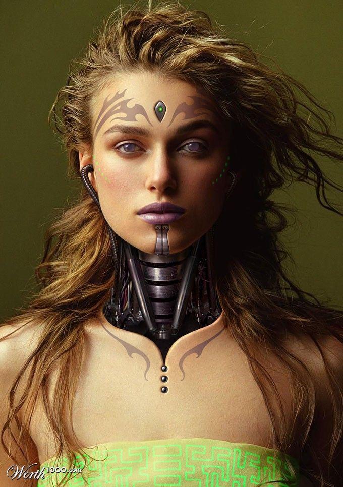 Kiera Knightley by batbrat  1st place entry in Celebrity Cyborgs 9