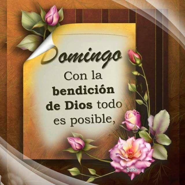 Buenos Dias Familia Dios Los Bendiga Los Amo Feliz Domingo