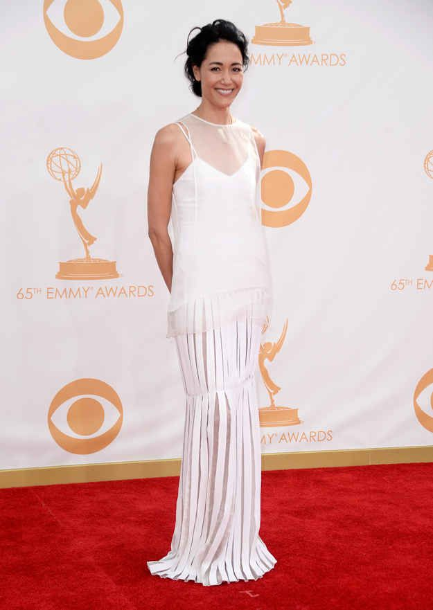 Sandrine Holt | Fashion At The 2013 Emmy Awards