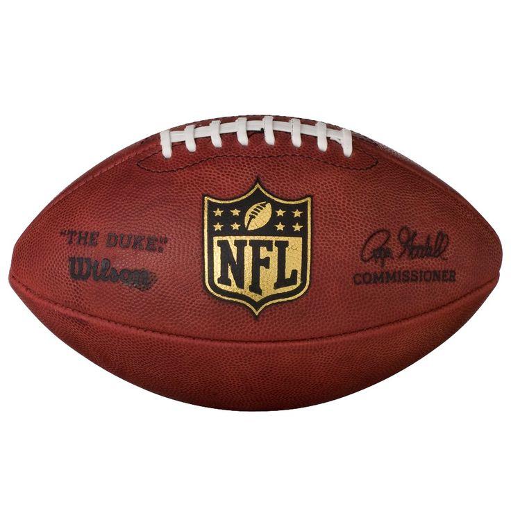 Wilson Official NFL Duke Game Football, Brown