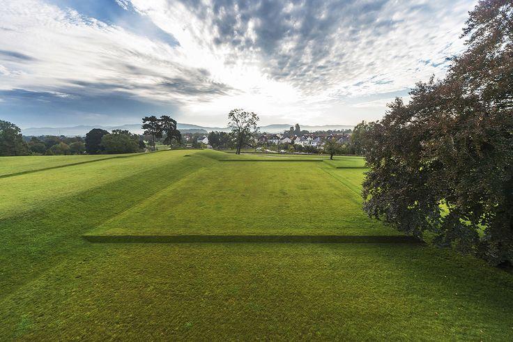 117 best images about landform on pinterest gardens for Terrace landform
