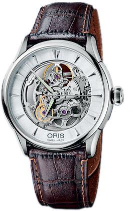 Oris Skeleton Watch.: Skeleton Watches, 734 7591, Mens, Skeletons, Artelier Skeleton