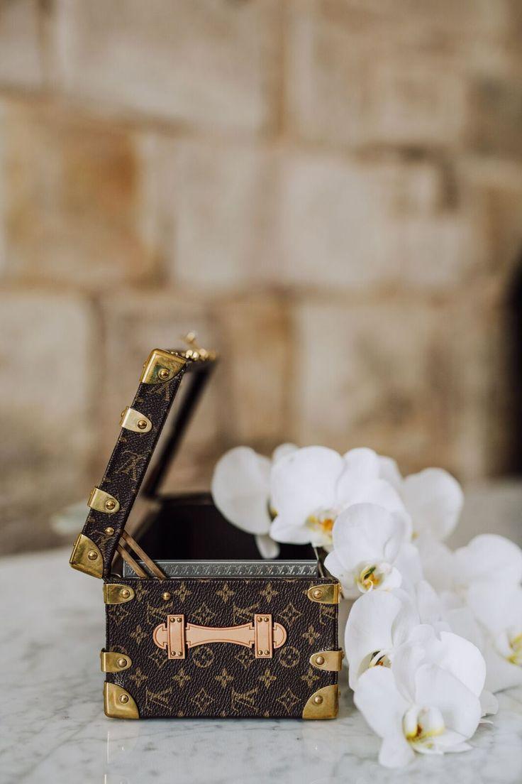 Gorgeous Louis Vuitton Flower Trunk