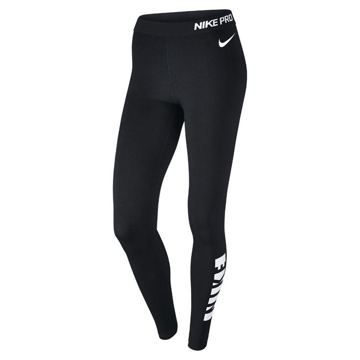 Nike Pro Warm Women's Training Tights Size Medium (Black)