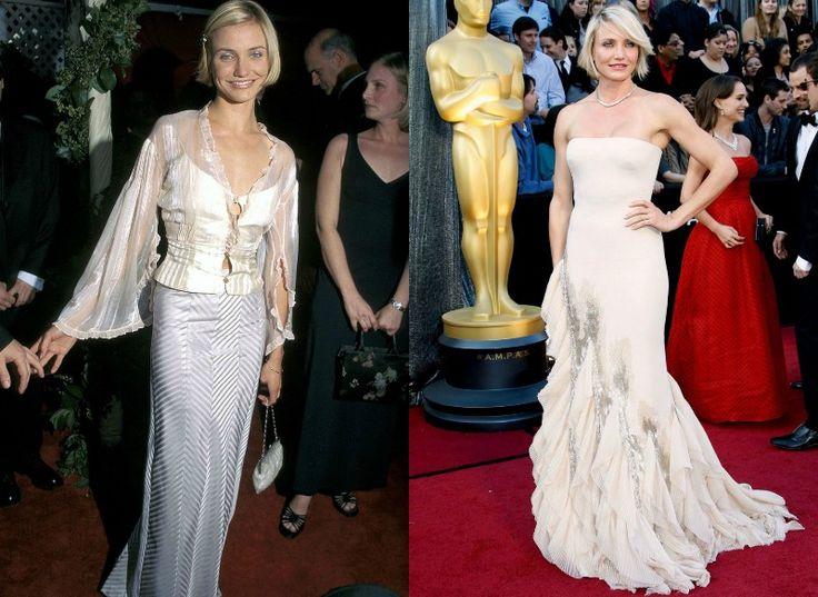 Celebrity na Oscarech tehdy a nyní - Cameron Diaz