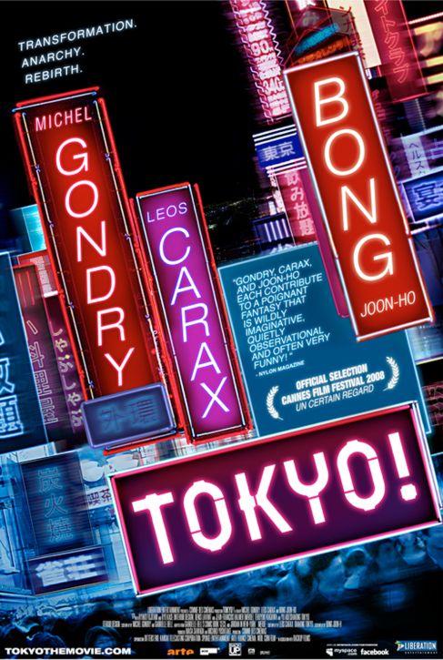 Directed by Joon-ho Bong, Leos Carax, Michel Gondry.  With Ayako Fujitani, Ryô Kase, Ayumi Itô, Nao Ômori. A cinematic triptych of three Tokyo-set stories.