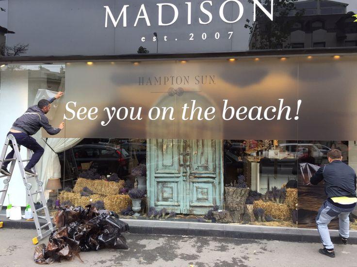 Madison Perfumery / Making of/ Window Display by Mihaela Damian