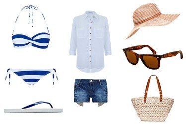 Look básico para ir a la playa, de @SUITEBLANCO