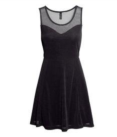 Design Scoop Neck Gauze Montage Sleeveless Lap Fashion Dresses