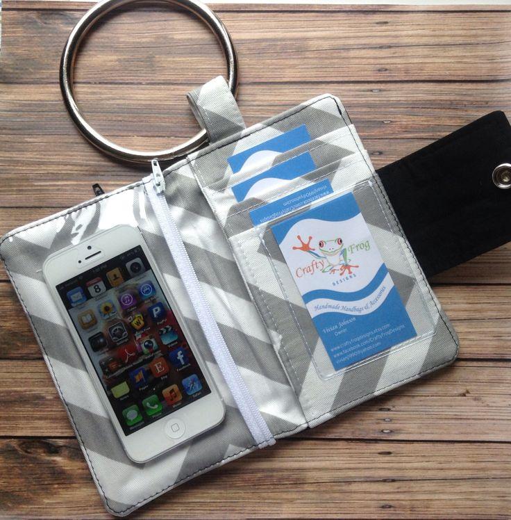 Wristlet Wallet - Bifold Wallet - Wallet - iPhone Wallet - phone wallet - women's wallet. $36.00, via Etsy.