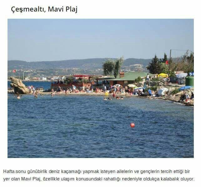 Çeşmealti, Mavi Plaji