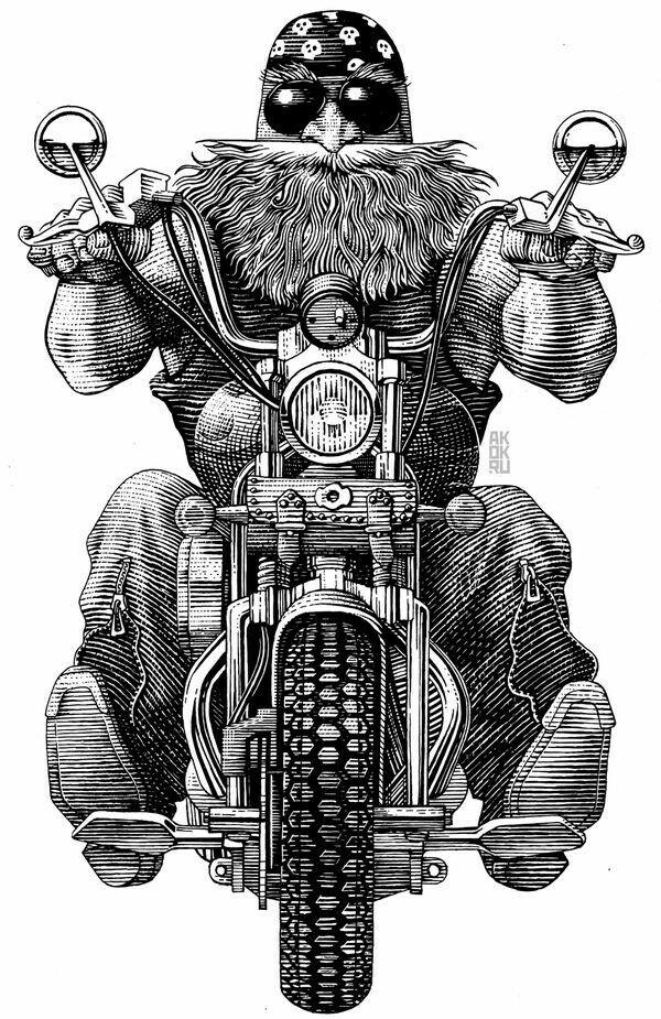 Moto Churrasco
