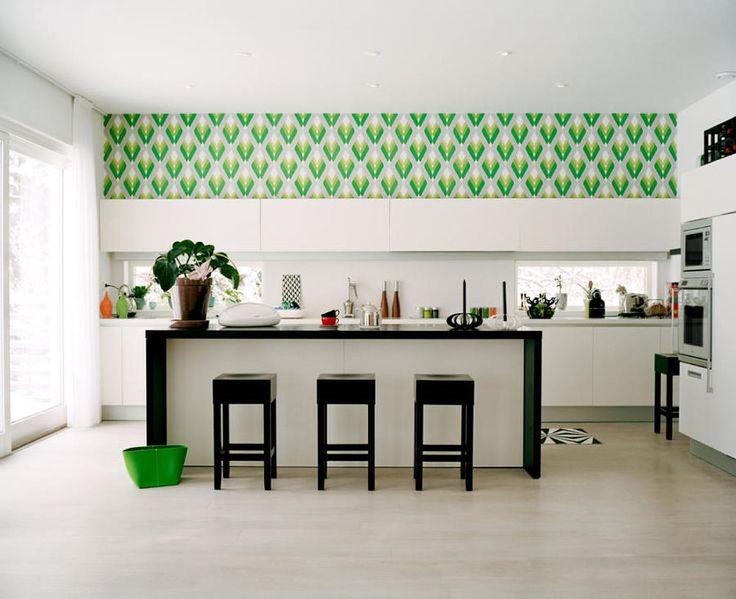 Cocinas abiertas con dos frentes ventajas funcionales y - küchen modern design