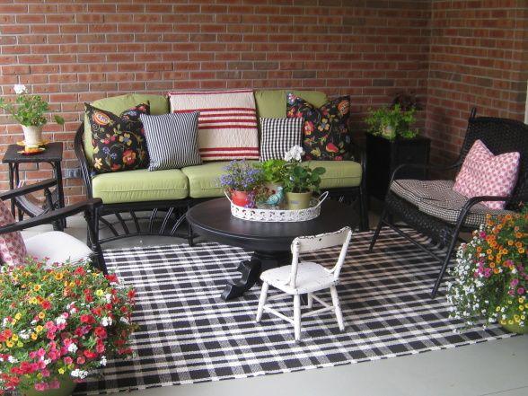 Balcony Floor Pillows