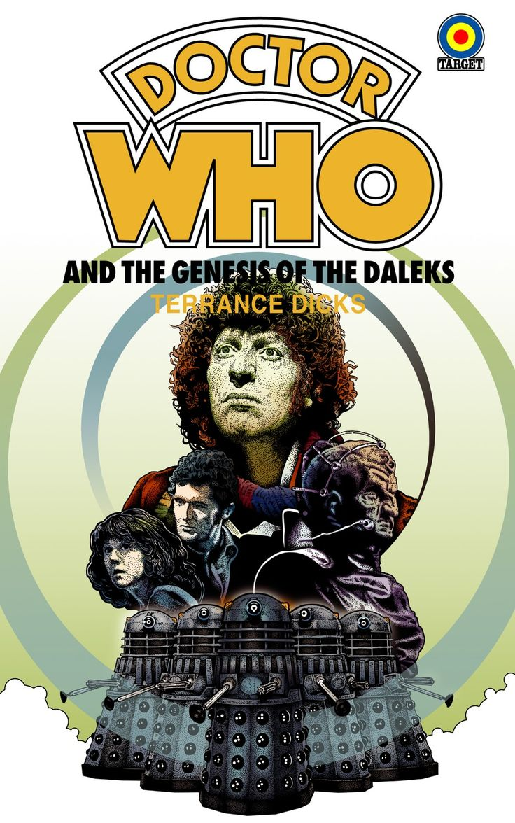 Book Covering Contact Target : Best images about doctor who genesis of the daleks on