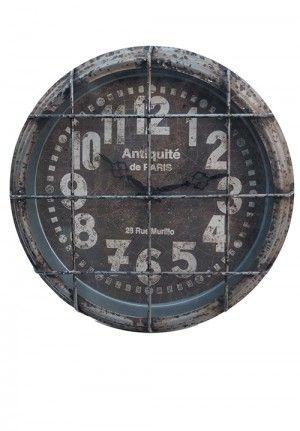 Metal Clock   Industrial Clock   Clock