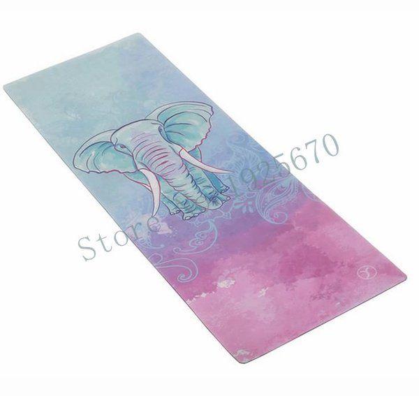 yoga mat elephant | Non Toxic Yoga Mat