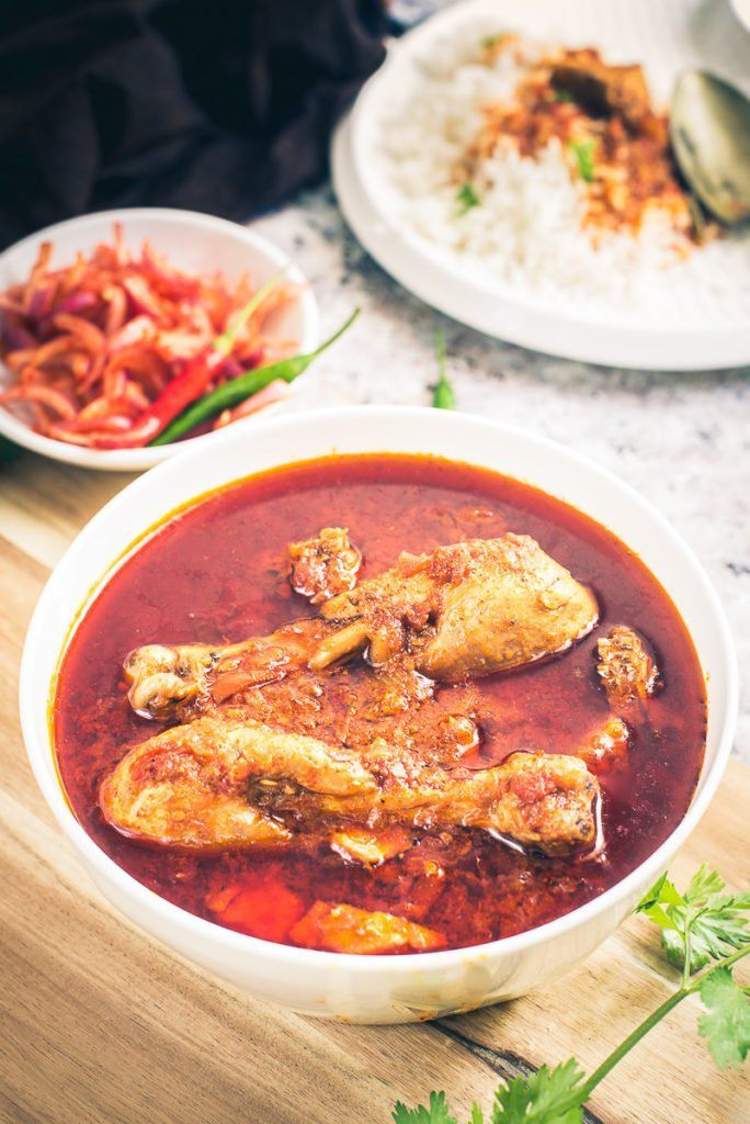 Tamatar Murgh Chicken Curry