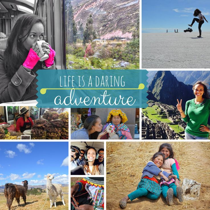 """""""The world is big. I travel because with each adventure, trip, discovery, exploration, the world gets just a bit smaller."""" -- Terra Hall, Latin America for Less Brand Manager and Travel Addict  September 27 is #WorldTourismDay. Why do you #travel?   #worldtourismday2014 #tourism #peru#bolivia#brazil#ecuador#galapagos  #chile#argentina#costarica#wanderlust#traveladdict#jetset#getaway#traveling#trip#vacation#getaway#ilovetravel#jetsetter#visiting#holiday#fun#travelling#travelpics"""