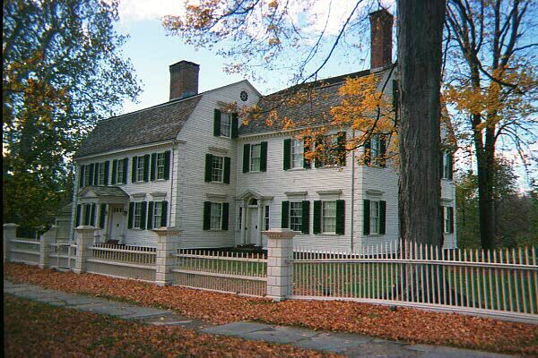 Images of historic homes in ct historic houses of new for New england colonial style