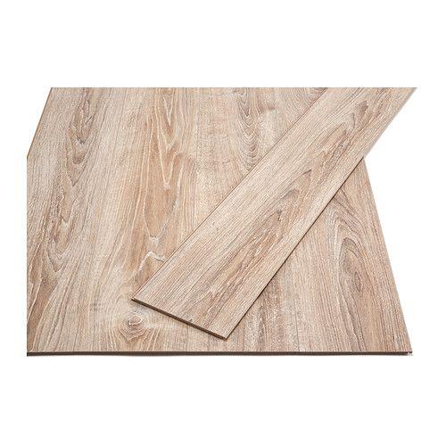 IKEA - GOLV, Suelo laminado, Superficie laminada: suelo muy resistente para oficinas y todas las áreas del hogar excepto habitaciones húmedas.El sol no lo destiñe. Es recomendable incluso para habitaciones muy expuestas al sol.Los suelos con la técnica clic son fáciles de colocar y no se necesita pegamento.