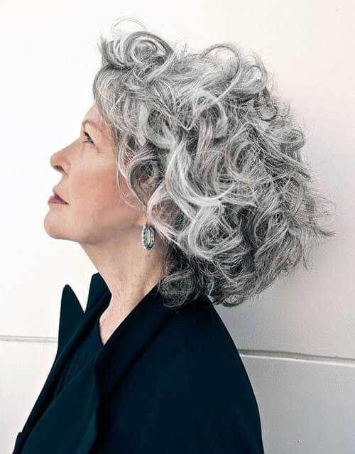 Peinados Para Senoras Rizado Media Melena Beautiful Hair And Nails