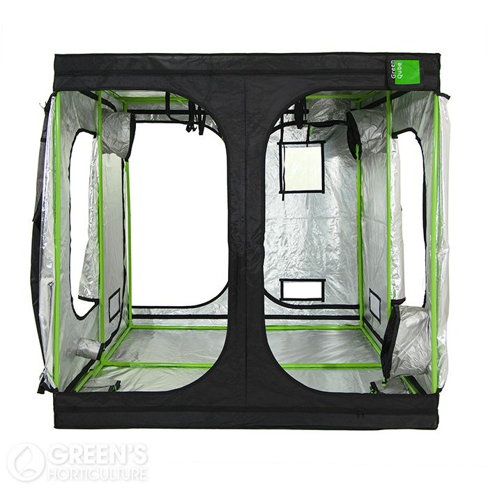 The GQ300 is the largest grow tent from Green Qube measuring in at 300cm x 300cm x 220cm. This spacious growing environment should provide more than enough room for those growers who want to grow lots of plants indoors. The GQ300 may be large but it is by no means flimsy. Green Qube grow tents offer the strongest tent poles available on the market, built to stand the test of time.