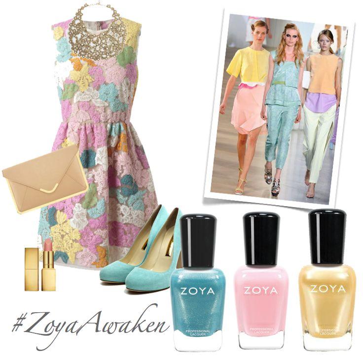 Sezonun pastel renkleri Zoya'nın can alıcı tonlarıyla tırnaklarınızda... #zoyaoje #zoyaawaken #zoyadot #zoyarebel #zoyabrooklyn #zoyaturkiye #zoyarebel #zoyabrooklyn #tırnak #nail #fashion #nailcolors #nailart #moda #shoes #bags #dress #zoyaturkiye #jewerly #kadın #style #jacket #skirt #bag #küpe #ayakkabı #elbise #style #blogger #makeup #trend #kombin #earring #ring #necklace #sunglasses