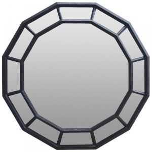 Other Framed Mirrors: Dodecagon Panelled Mirror 1000mm dia