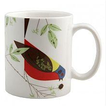 Oldham + Harper Painted Bunting Bird Mug - shopPBS.org