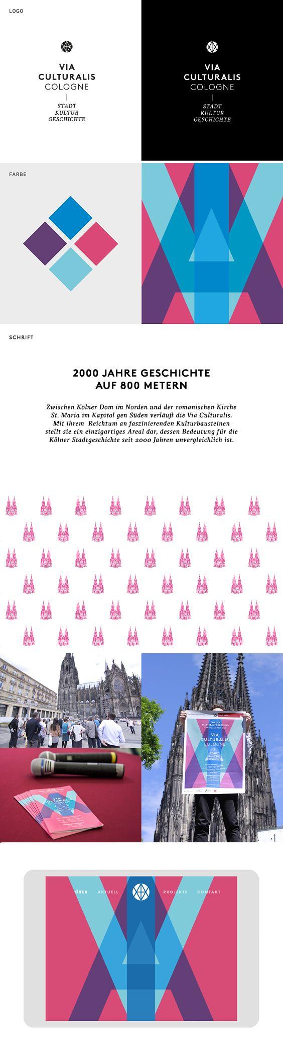 VIA CULTURALIS Die Via Culturalis ist ein besonderer Ort in Köln. Gelegen zwischen dem Kölner Dom im Norden und der romanischen Kirche St. Maria im Kapitol im Süden bietet dieses Quartier auf rund 800 Metern Einblicke in 2000 Jahre Stadtgeschichte. Es ist ein identitätsstiftender Lieblingsort, der Lebensqualität und kulturelle Erfahrungen schenkt und den Geist der Stadt prägt. Seit einigen Jahren profiliert die Stadt Köln das Quartier auf einer baulichen wie auch auf einer narrativen Ebene…