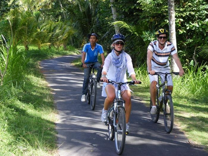 Bali Budaya Tours (Bali Eco) offers a downhill tour that begins near Lake Batur and goes through paddies and plantations...