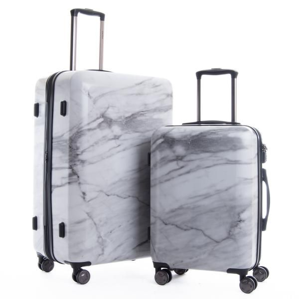 White Marble Luggage. Shop CalPak for modern hard-sided lightweight expandable luggage. Choose from a great selection of stylish luggage sets available in a variety of colors.