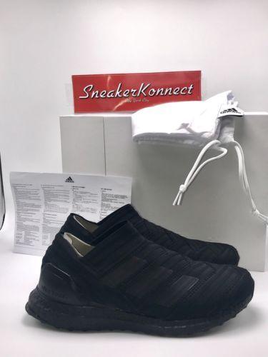 d8f96a84b61a Adidas Nemeziz Tango 17+ 360 Agili Triple Black PK Size 9 CG3657 Ultra Boost