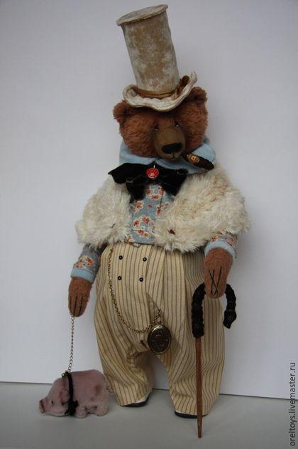 Walk by Olga Orel, Orel Olga, oreltoys, Olga Orel, the author's handmade, teddy bear, teddy bear handmade.