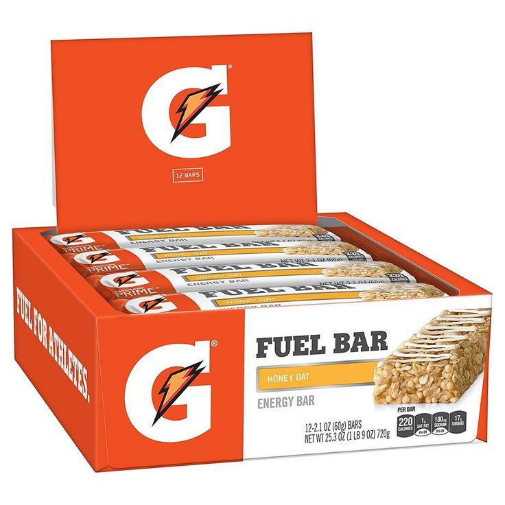 Gatorade Prime Fuel Bar Honey Oat - 1 oz - 12 ct