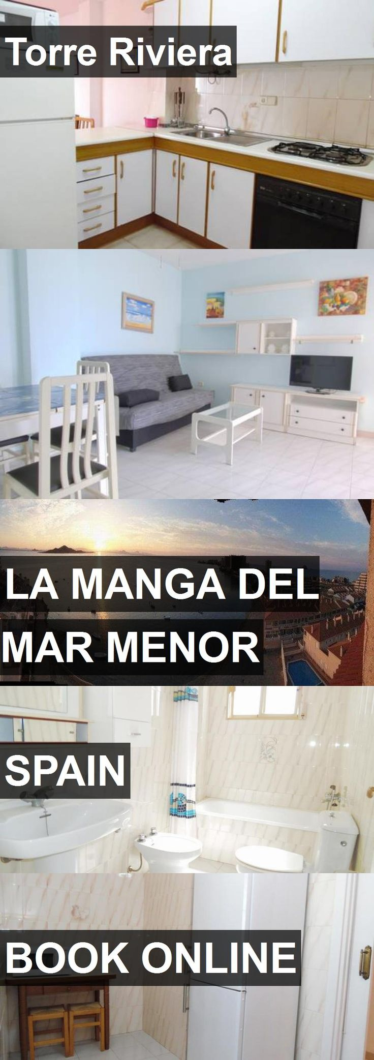 Hotel Torre Riviera in La Manga del Mar Menor, Spain. For more information, photos, reviews and best prices please follow the link. #Spain #LaMangadelMarMenor #travel #vacation #hotel