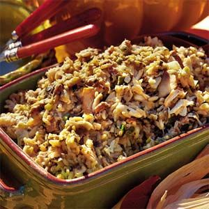 Dress Up Your Stuffing | Crabmeat-and-Oyster Dressing | MyRecipes.com