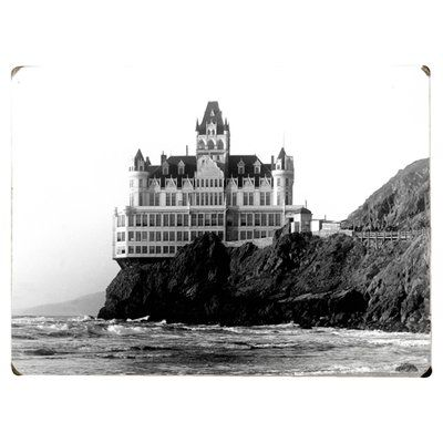 Artehouse LLC Cliff House Hotel Photographic Print on Wood