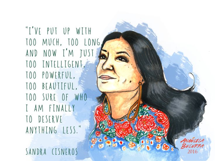 "Continuing the revolutionary love note series with Sandra Cisneros. Currently reading ""A House of my Own"" and relishing on the memories of this amazing chingona elder. Reminding myself of my power, of..."