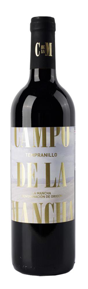 Вино Campo de la Mancha Tempranillo, 0, 0.75, Кампо де ла Манча Темпранильо, красное, сухое,  Испания, Кастилия Ла Манча