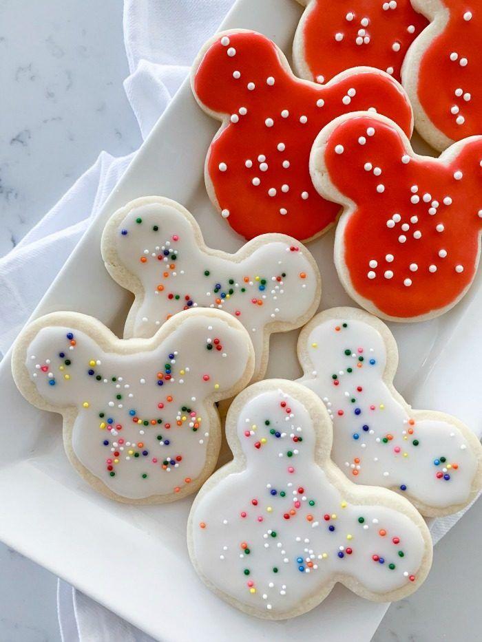 Mickey Mouse Sugar Cookie Recipe Sugar Cookies Recipe