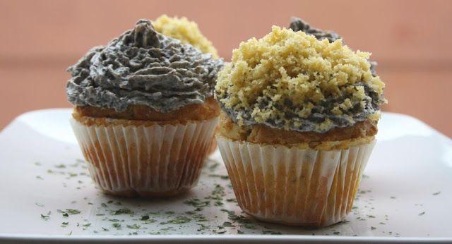 Destreggiandomi in cucina: Cupcakes radicchio e funghi